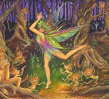 'Dancing on Faery Knoll' by Jo Morgan by Jo Morgan