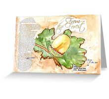 Country Diary - From the Forest Greeting Card