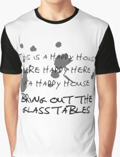 House of Balloons / Glass Table Girls Lyrics Highlight Graphic T-Shirt