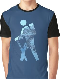 Alpine Hiker Graphic T-Shirt
