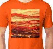 Abstract Landscape Yellow Hills Unisex T-Shirt