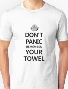 DON'T PANIC! Again... Unisex T-Shirt