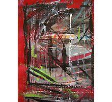 through red windows #5 Photographic Print