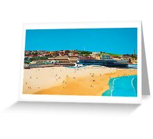 Sydney 2000 - Olympic Torch Landing by Sea - Panel 1 Greeting Card