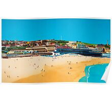 Sydney 2000 - Olympic Torch Landing by Sea - Panel 1 Poster