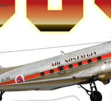 DC3 T-shirt Design Sticker