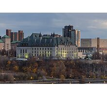 Supreme Court of Canada building Photographic Print