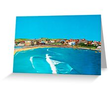 Sydney 2000 - Olympic Torch Landing by Sea - Panel 2 Greeting Card