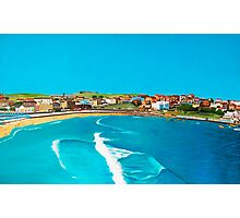 Sydney 2000 - Olympic Torch Landing by Sea - Panel 2 Photographic Print