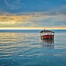 lonely indian boat by merilfloyd