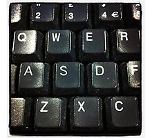Qwerty Photographic Print