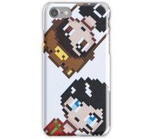 Dan and Phil pixel iPhone Case/Skin