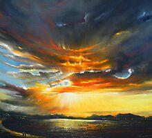 heaven and hell by Roman Burgan