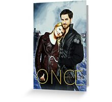 Captain Swan Comic Poster Version 1 Greeting Card