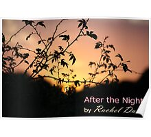 After The Night - book cover Poster