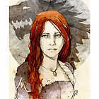Sansa Stark_iPhone case by Elia Mervi