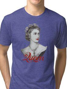 Queen of Diamonds Tri-blend T-Shirt