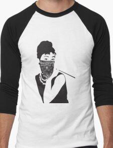 Gangster Audrey Hepburn   TSHIRT Men's Baseball ¾ T-Shirt