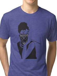 Gangster Audrey Hepburn | TSHIRT Tri-blend T-Shirt