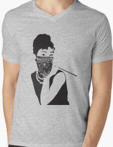 Gangster Audrey Hepburn | TSHIRT Mens V-Neck T-Shirt