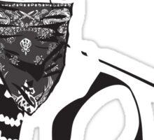 Gangster Audrey Hepburn | TSHIRT Sticker
