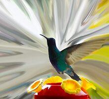 Hummingbird Series VII by Al Bourassa