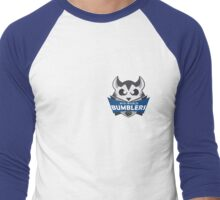 The Mid-World Bumblers - chest Men's Baseball ¾ T-Shirt