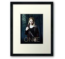 "Emma Swan Comic Poster ""The Dark One"" Framed Print"