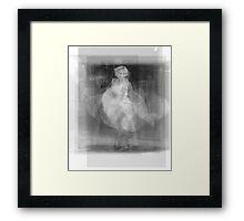 Marilyn Monroe dress Framed Print