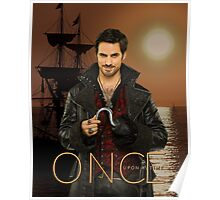 "Captain Hook Comic Poster ""Sunset"" Poster"