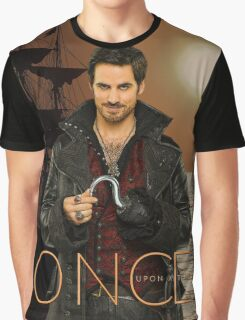 "Captain Hook Comic Poster ""Sunset"" Graphic T-Shirt"