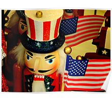 Holiday Colors-STARS, STRIPES AND A BIT OF WHIMSY ^ Poster
