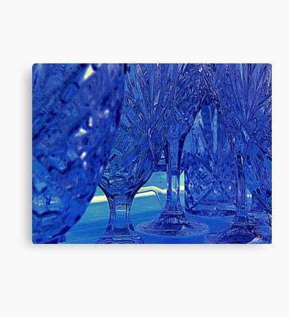 Crystal  - Monochrome  ^ Canvas Print