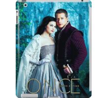Snow and Charming Comic Poster Version 1 iPad Case/Skin