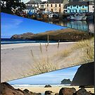 Hebridean Blue Collage by kathrynsgallery