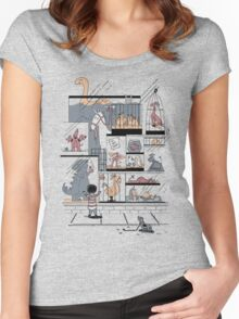 The Ultimate Pet Shop Women's Fitted Scoop T-Shirt