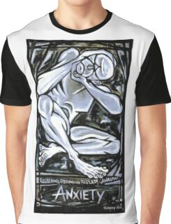 'Anxiety' Graphic T-Shirt