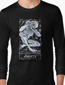 'Anxiety' Long Sleeve T-Shirt