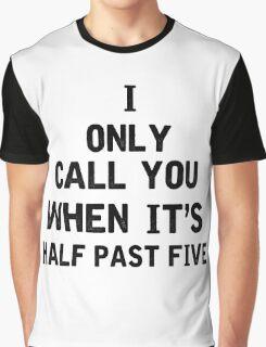 The Hills Lyrics Highlight Graphic T-Shirt