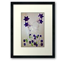 Champagne Glasses Framed Print