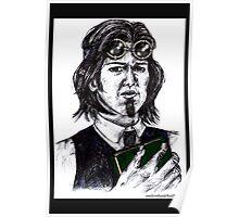 Sam Winchester AKA Steampunk Librarian Poster
