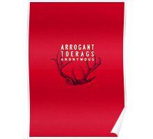 MARAUDERS | Arrogant Toerags Anonymous Poster