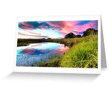 Kollodong Sunset Greeting Card