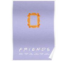 FRIENDS | minimalist poster Poster