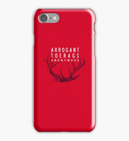 MARAUDERS | Arrogant Toerags Anonymous iPhone Case/Skin