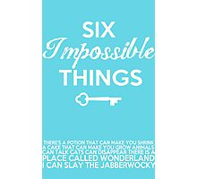 Impossible Things Photographic Print
