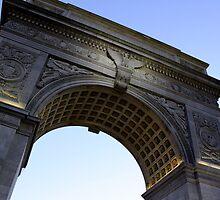 Arch in Washington Square Park by Amanda Vontobel Photography