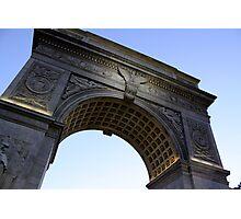 Arch in Washington Square Park Photographic Print