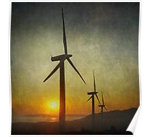 The power of the wind Poster