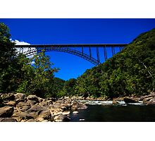 New River Gorge Bridge Photographic Print